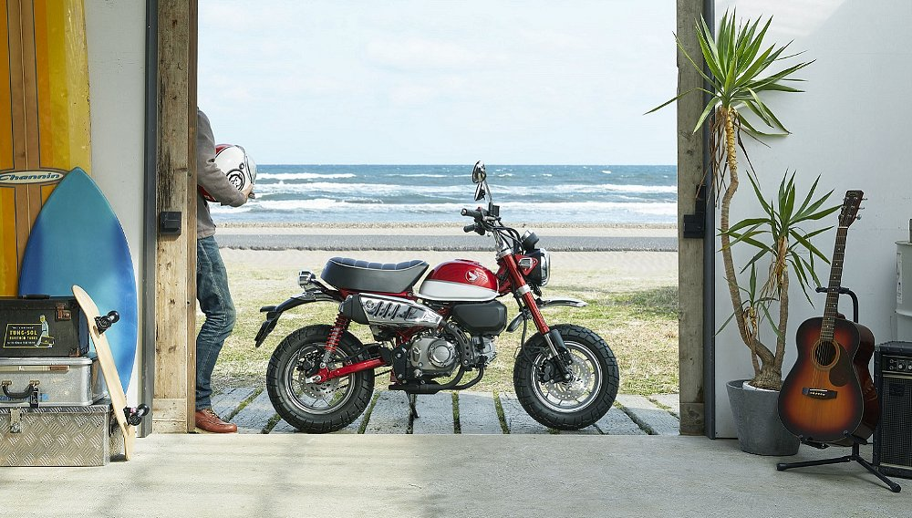 Nice revisited: Honda reaches into past, brings new Monkey and Super Cub to U.S.