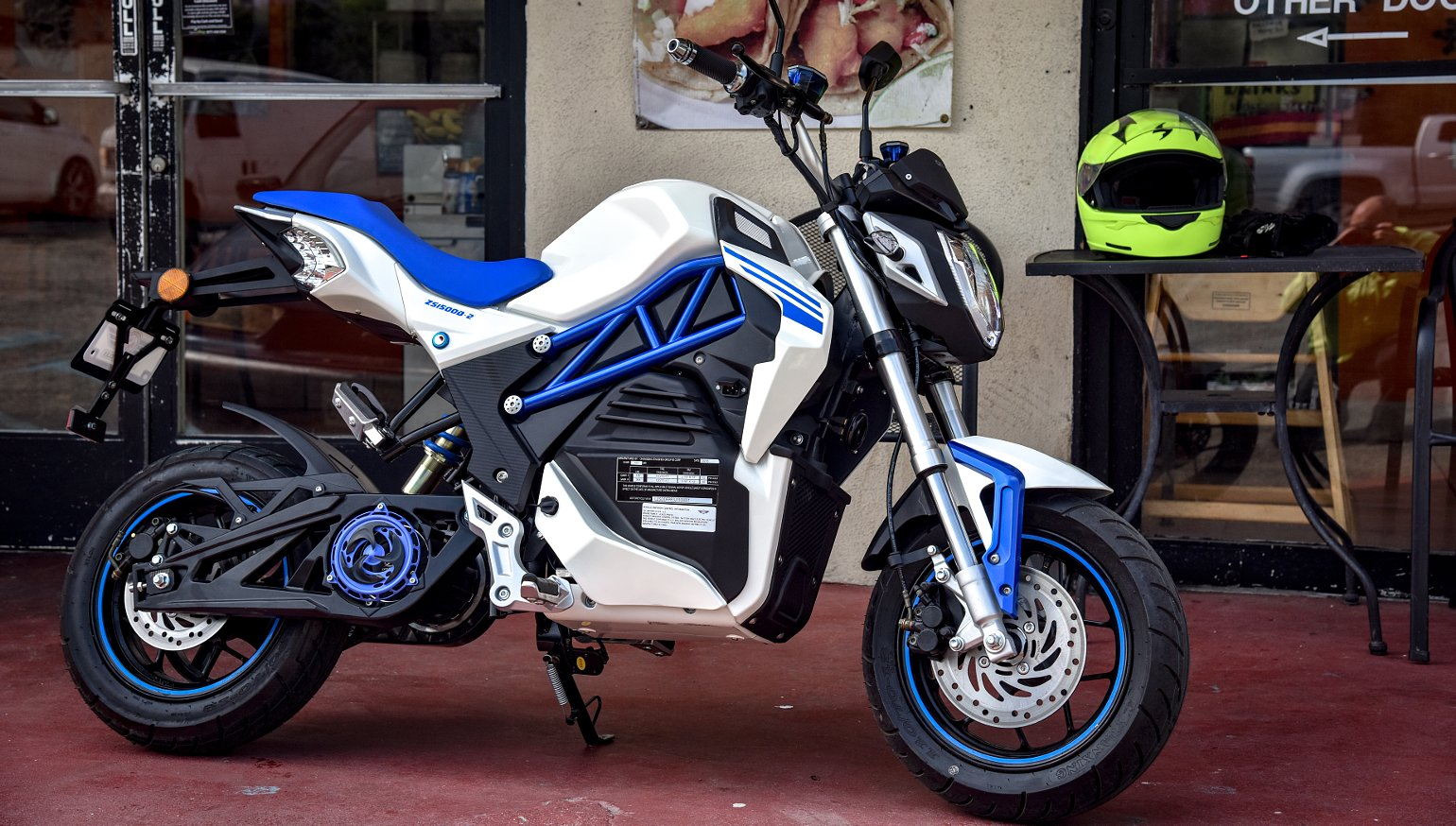 CSC introduces its first electric motorcycle, the City Slicker, at