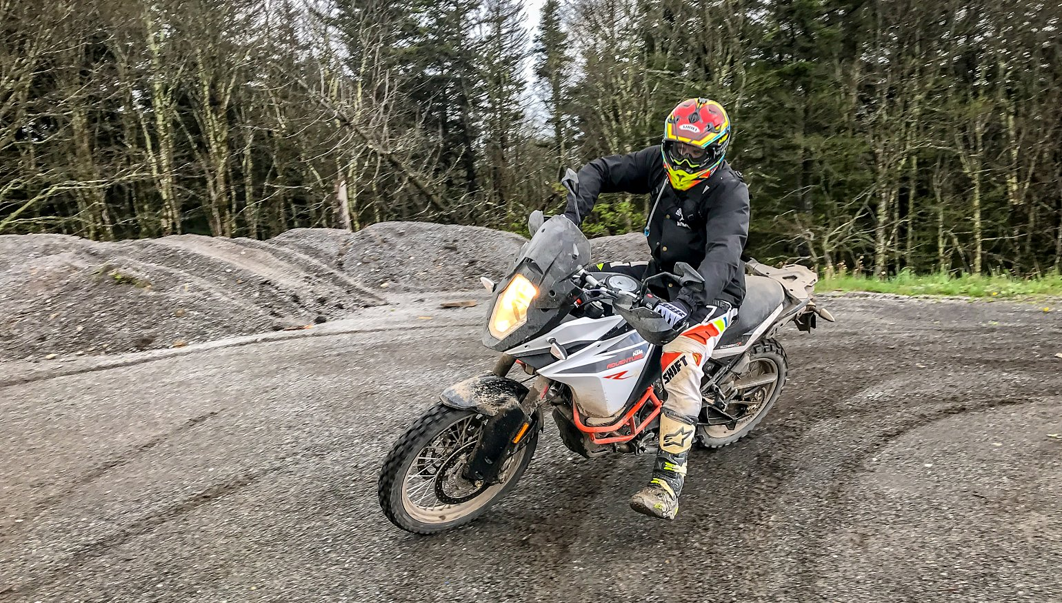 Trading places: Introducing a motocross racer to adventure riding