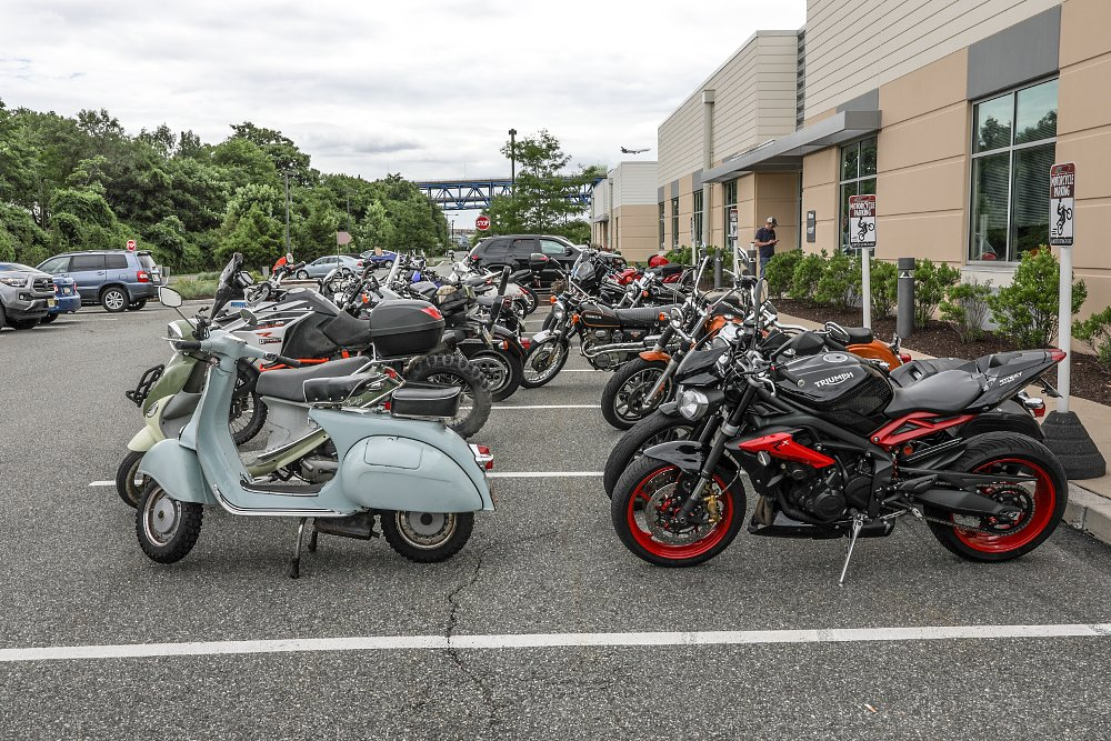 Zillans' rides: Ride to Work Day 2018 at RevZilla