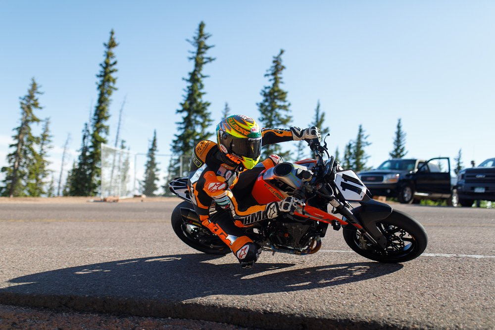 Video: KTM Duke 790, Chris Fillmore, and Pikes Peak 2018