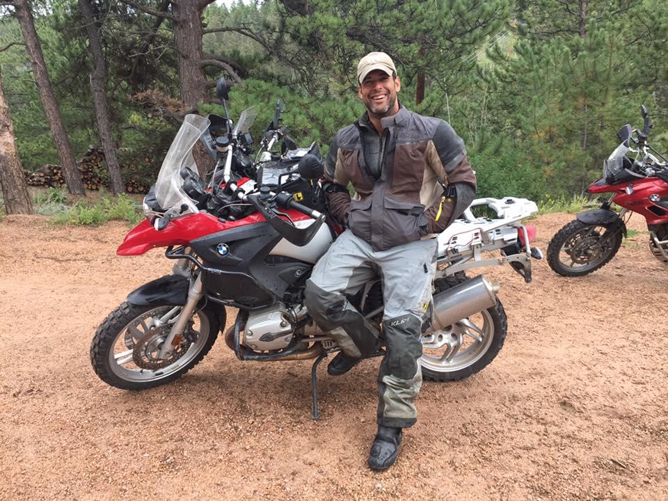 Meet Chris Diaz: Veteran, rider, future doctor, and