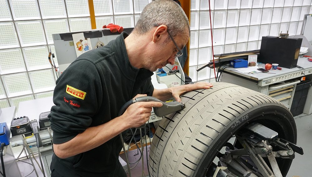 Inside Pirelli's test lab: The science and art of making motorcycle tires