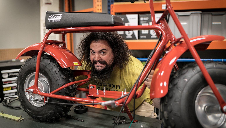 Lemmy's summer project: Building a monster minibike - RevZilla
