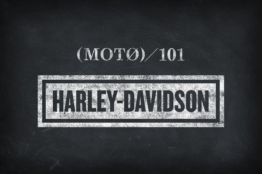 Moto 101: Learning your Harley ABCs
