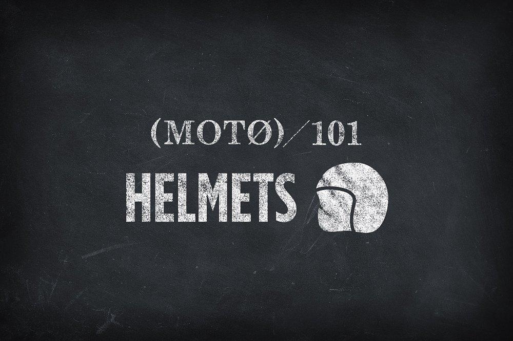 Motorcycle Helmets 101