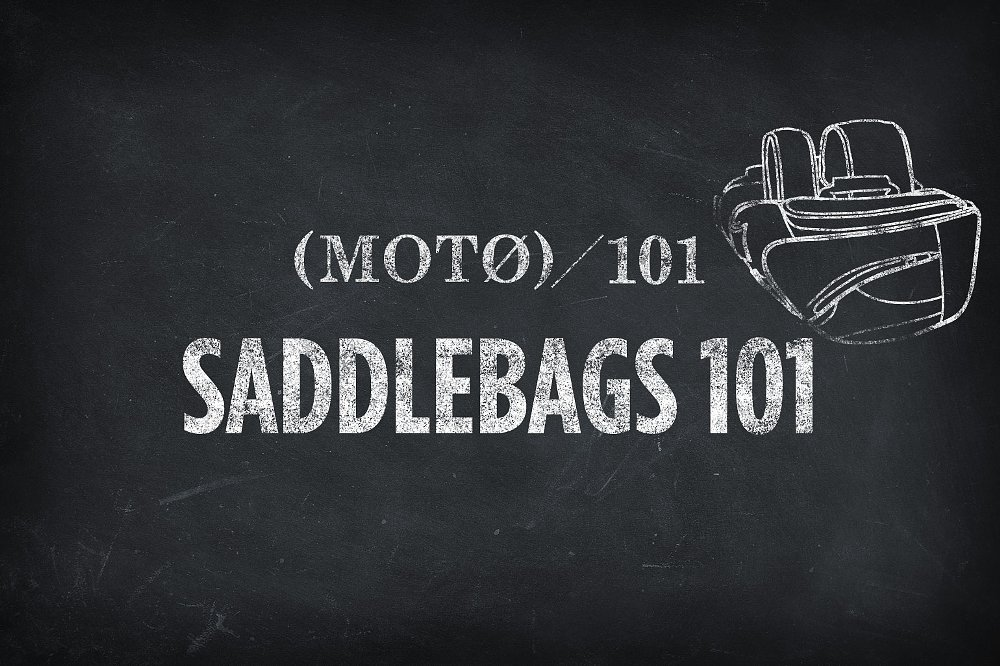 Saddlebags and luggage 101