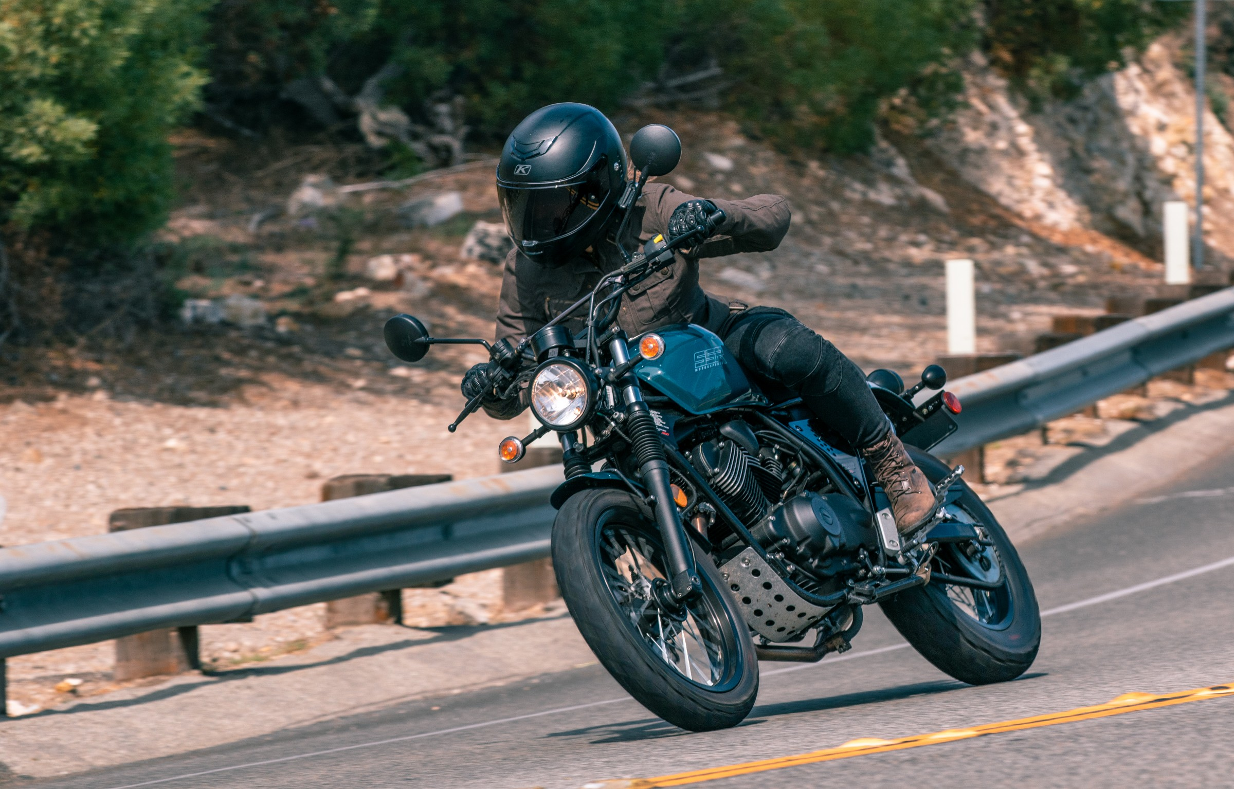2018 SSR Buccaneer Cafe and Classic first ride review - RevZilla