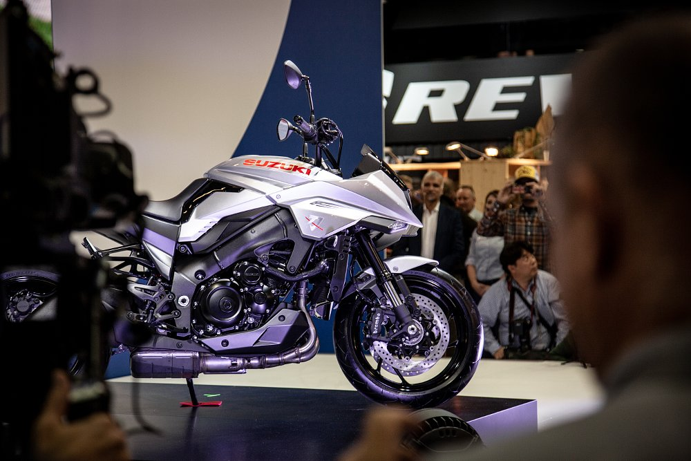 Suzuki shows new Katana at Intermot