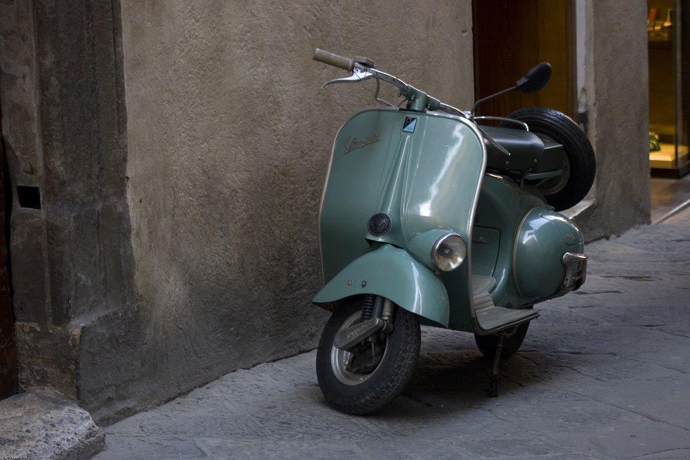 Genoa's mayor wants classic Vespas off their home roads, citing emissions