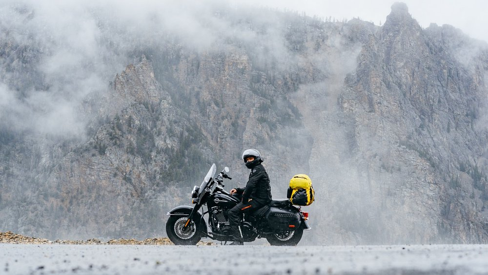 When weather threatens your big motorcycle trip