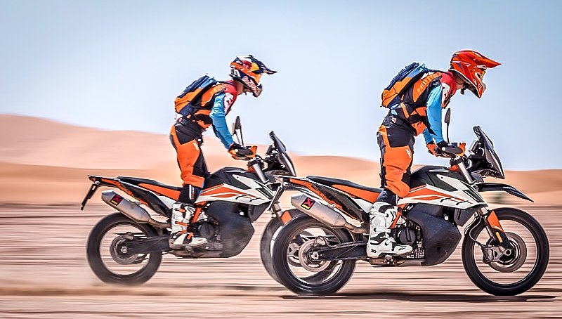 KTM seeks to disrupt the middleweight ADV segment with new 690 Enduro R and 790 Adventure R