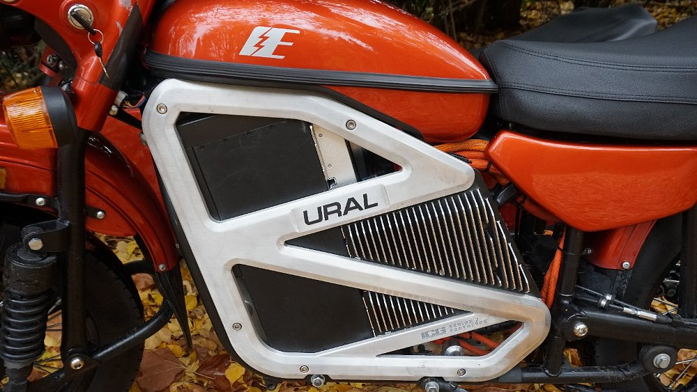This first ride is a shocker: Ural EV prototype