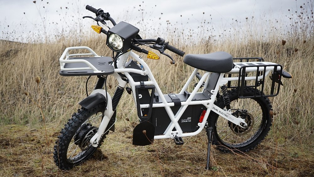 Now, something totally different: Riding the Ubco 2x2 electric trail bike