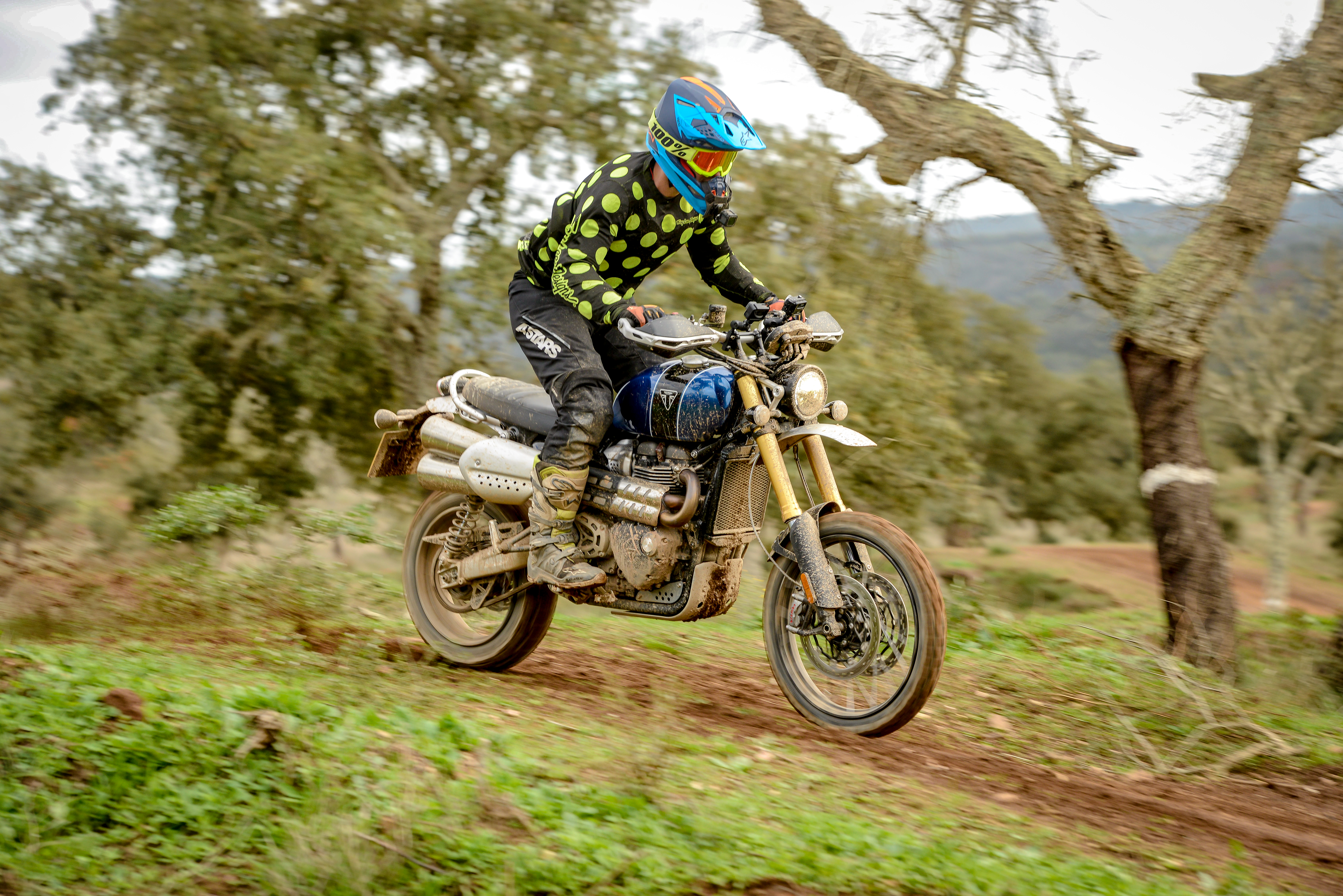 2019 Triumph Scrambler 1200 XC and XE first ride review - RevZilla