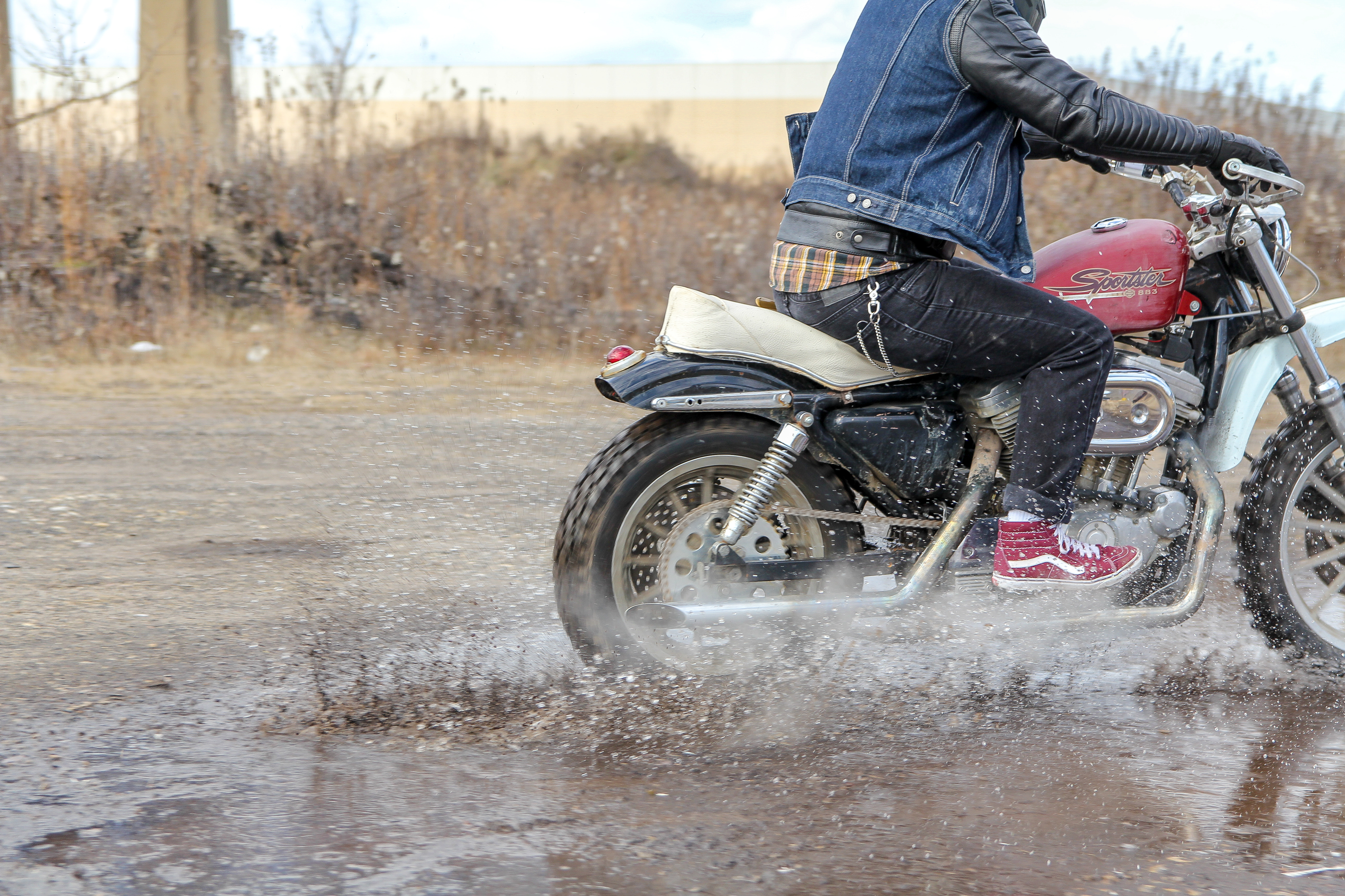 Ride whatcha got: Taking a Sportster on two dual-sport rides