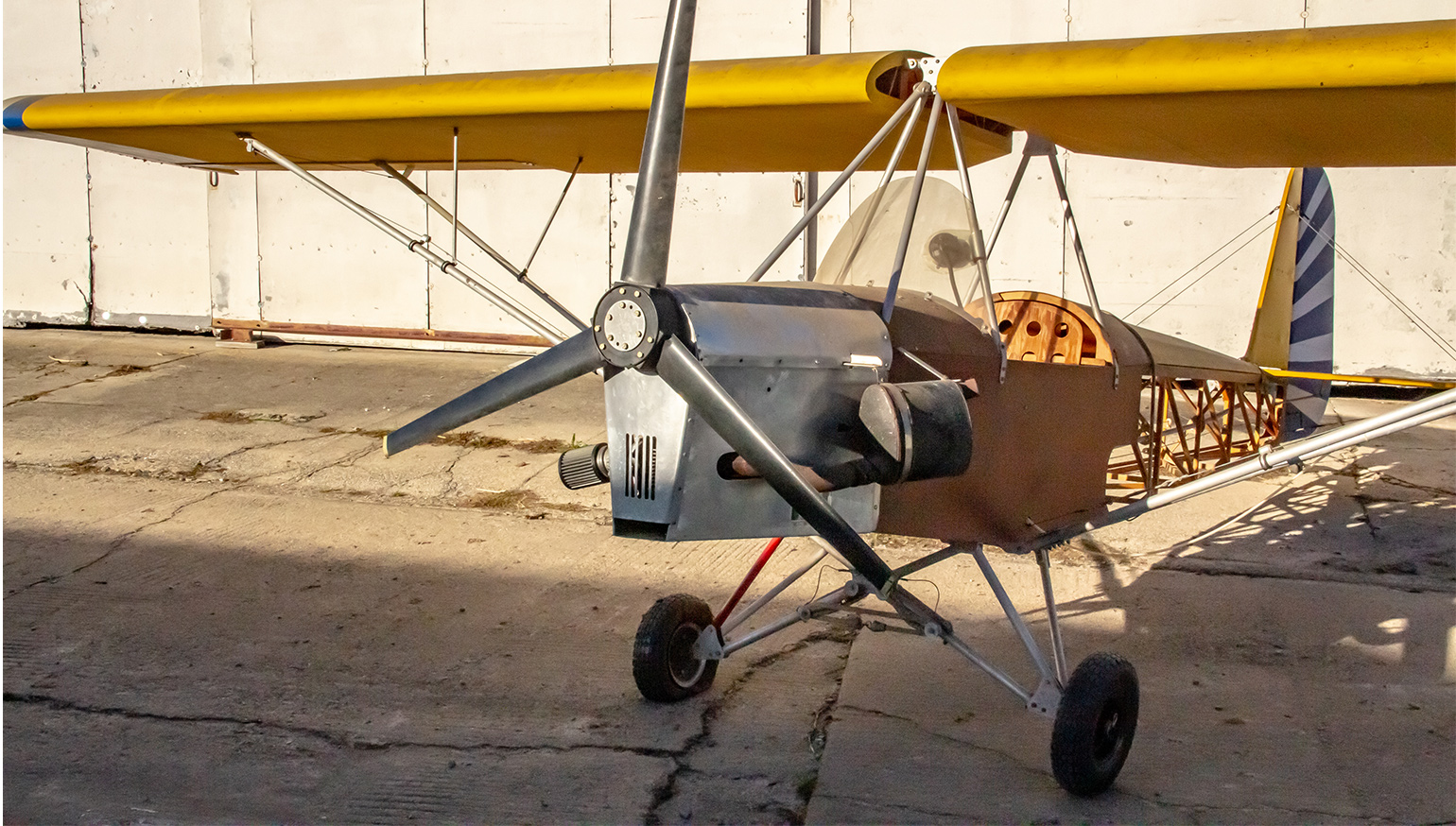 What a Kawasaki-powered, two-stroke airplane tells us about