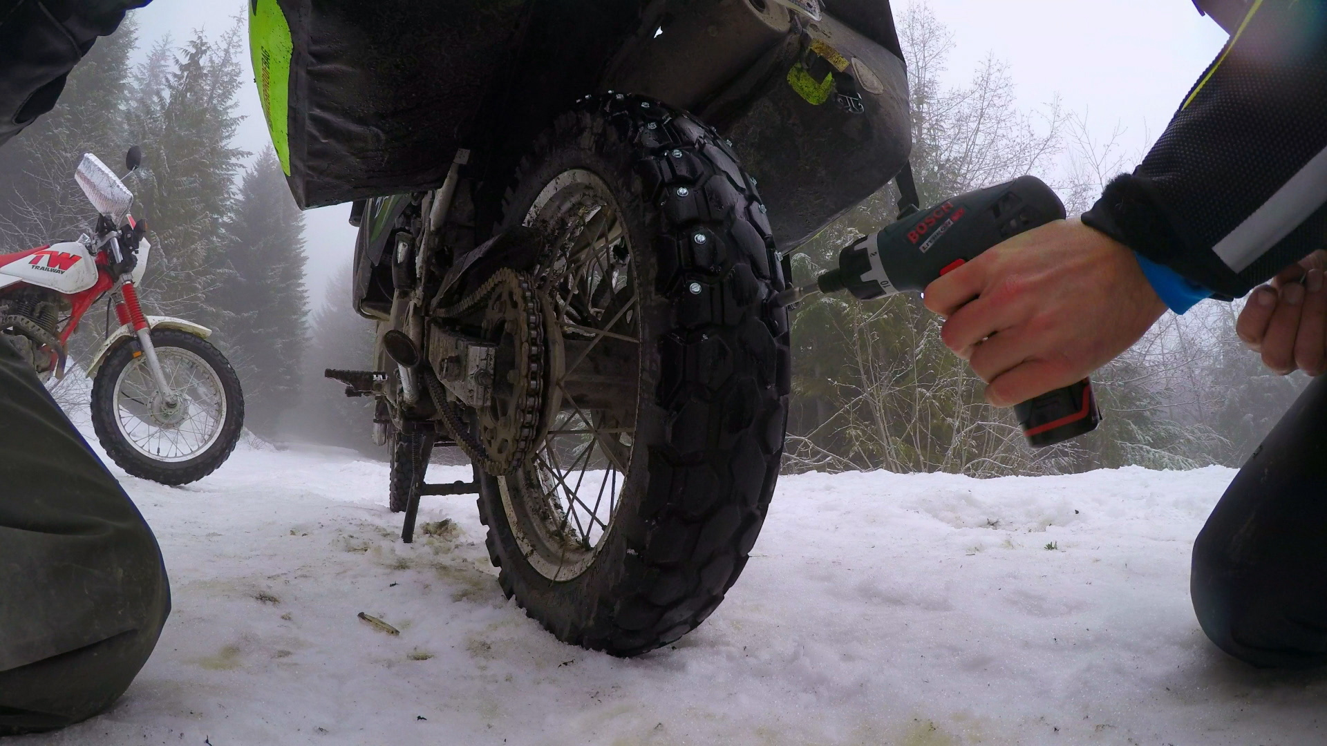 Conquering winter on Craigslist dual-sports: The ride to