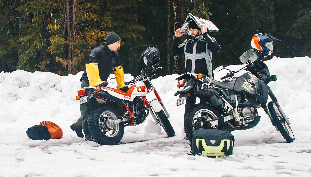 Conquering winter on Craigslist dual-sports: The ride to Snow Camp