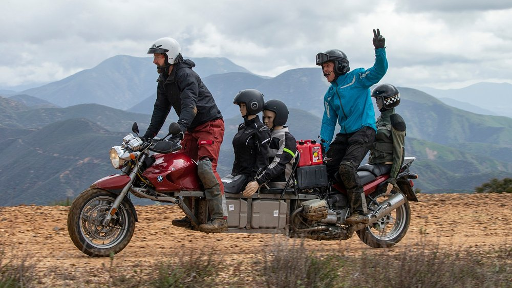 Building the Sport Utility Cycle, a motorcycle built for five