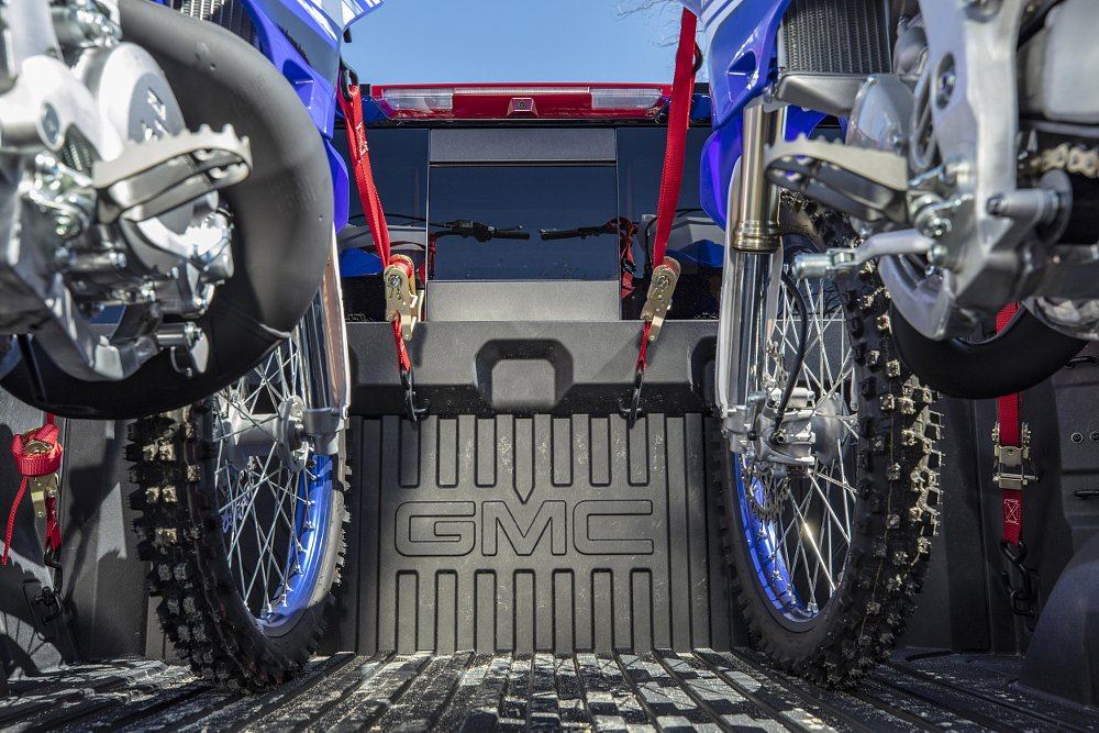 GMC makes a carbon fiber truck bed for riders