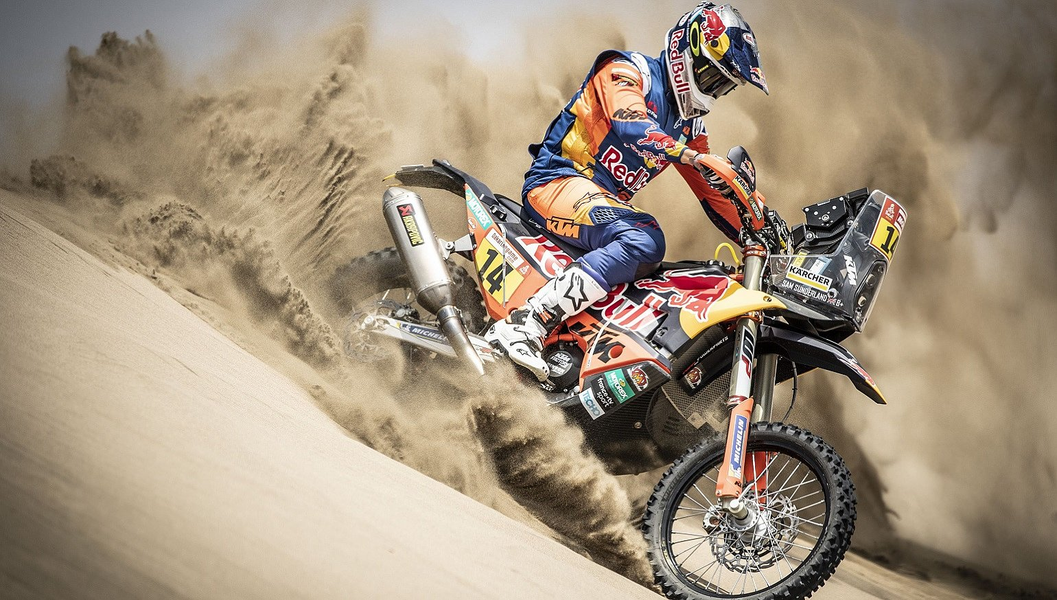 The Dakar Rally's new route goes through some unwelcoming