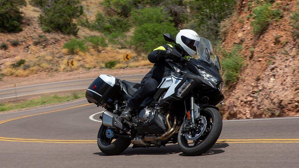 2019 Kawasaki Versys 1000 SE LT+ first ride review