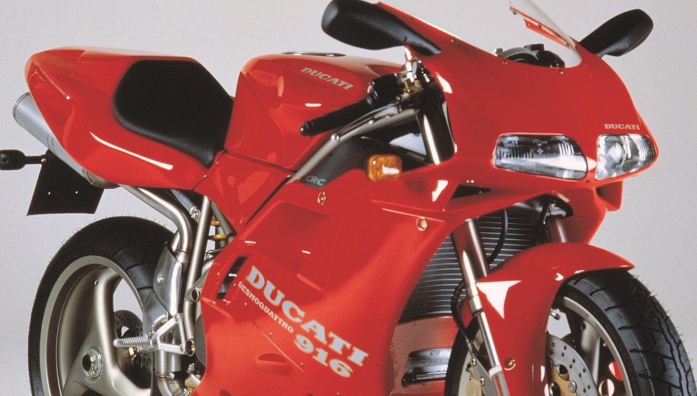 The Ducati 916 is 25 and still amazing after all these years