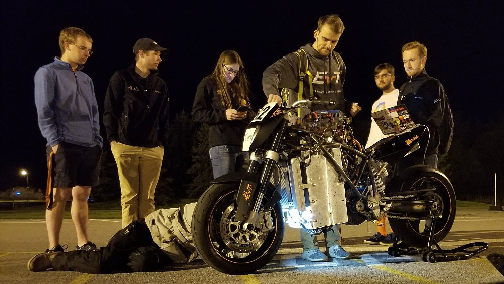 True RIT: Student team builds an electric-powered Duke to take on Pikes Peak