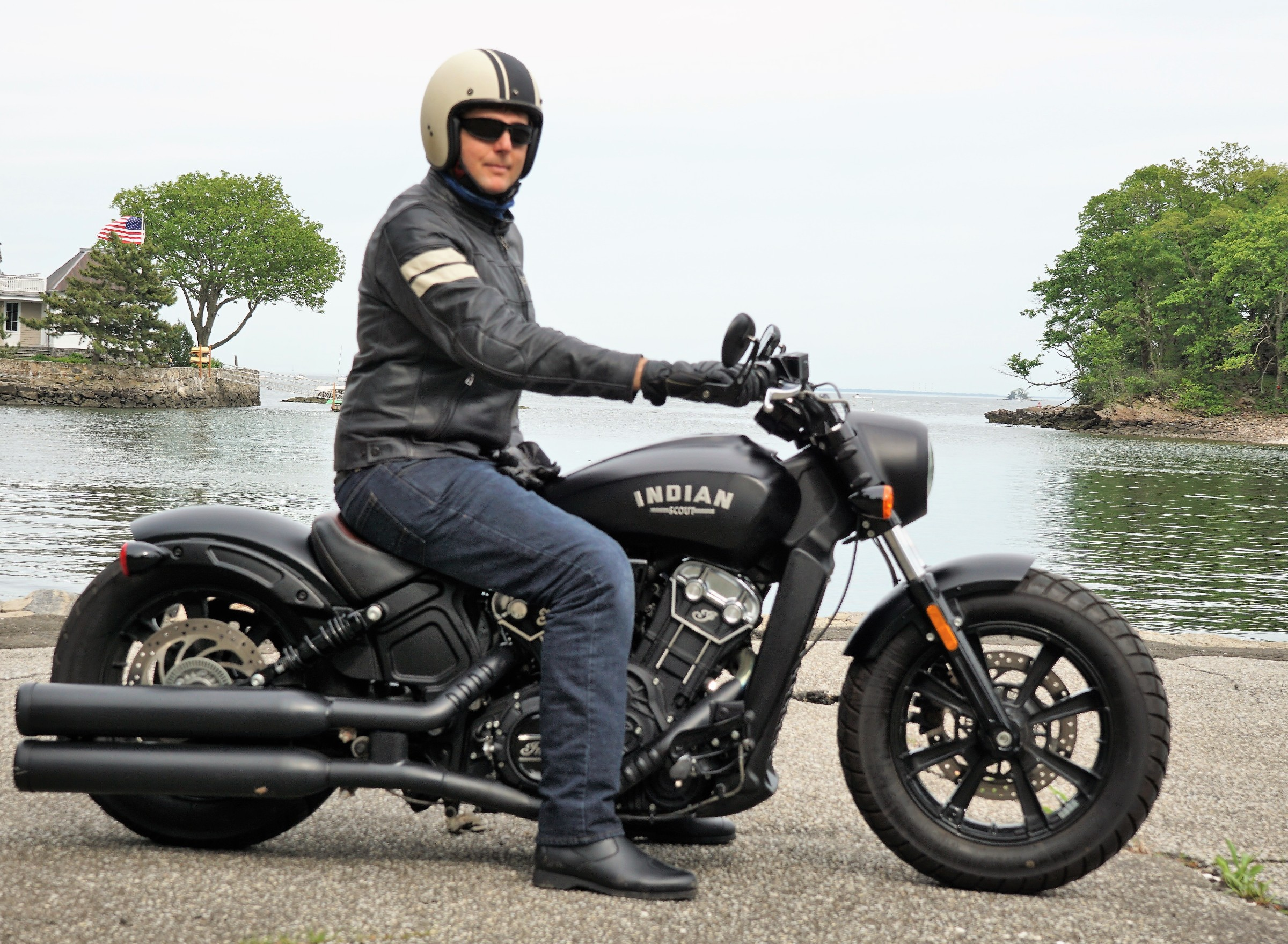 Living With An Indian Scout Bobber Revzilla