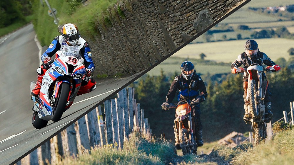 Ari and Zack race the Isle of Man (but not in the TT)