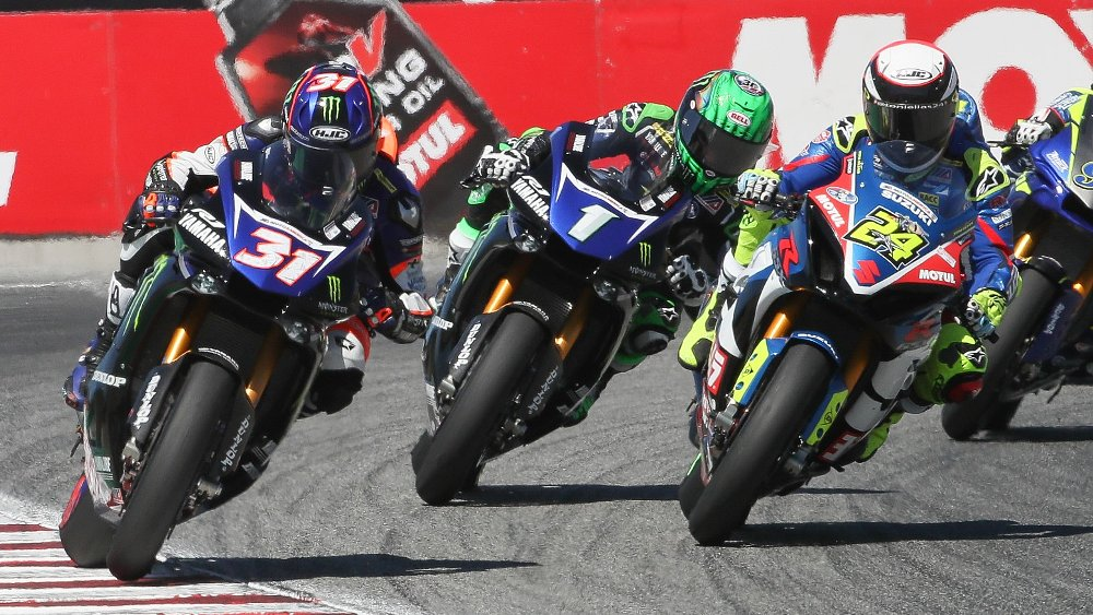 It's a three-way title fight as MotoAmerica enters the home stretch