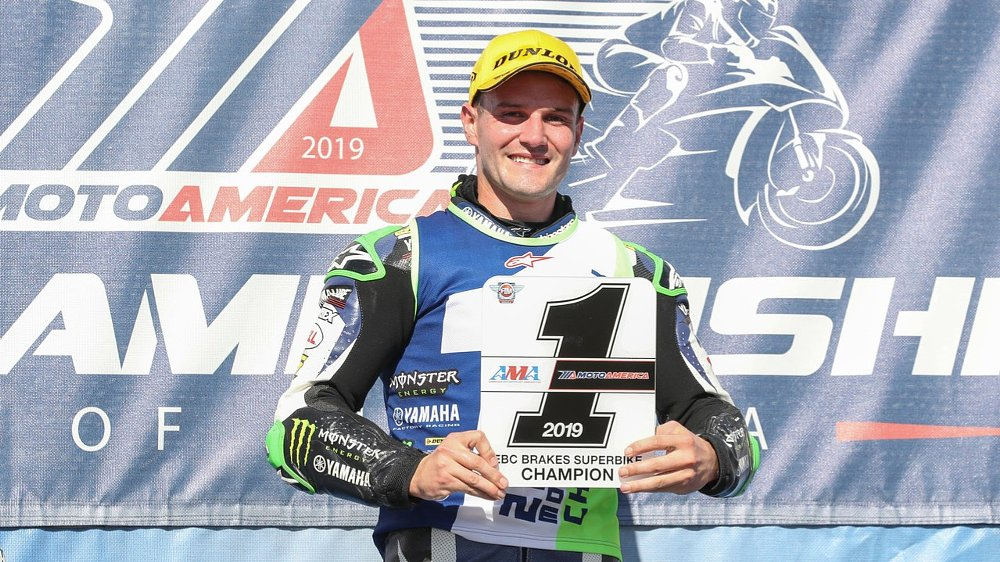 Beaubier comes back from 59-point deficit to win MotoAmerica title