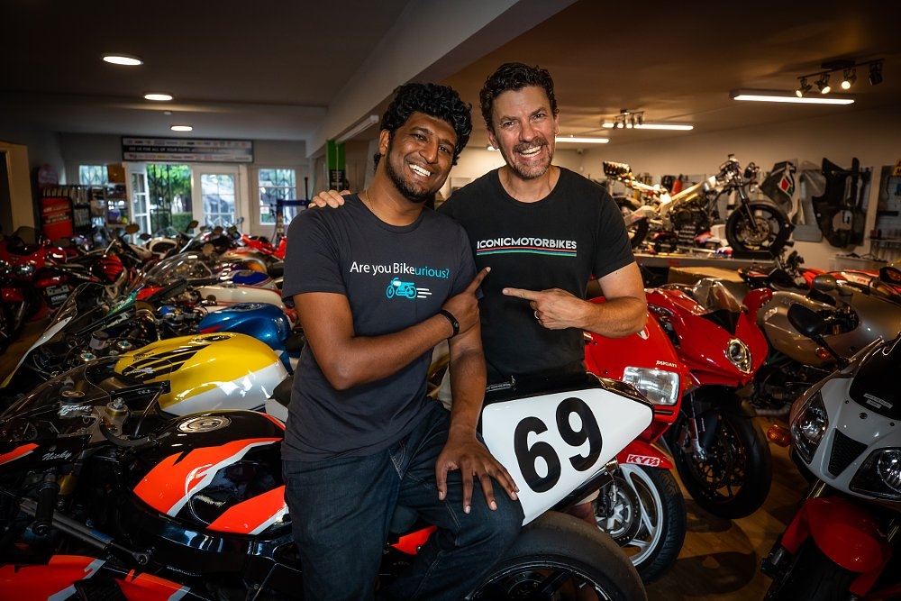 Interview: Building a marketplace for moto-exotica with Bike-urious and Iconic