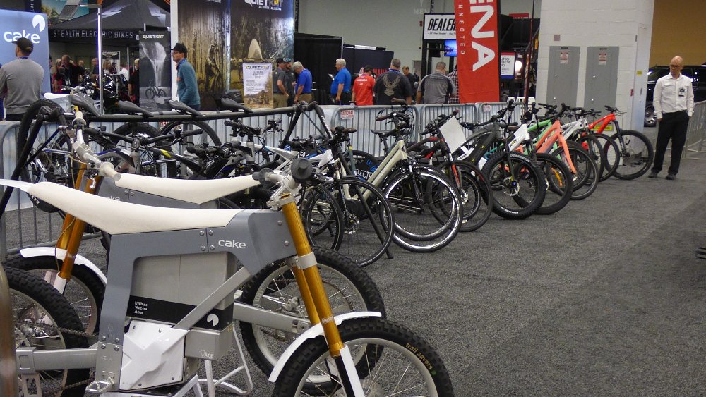 Four e-bikes at AIMExpo you may not have seen yet