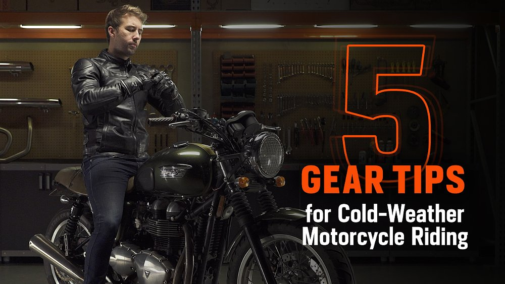 Five gear tips for cold-weather riding