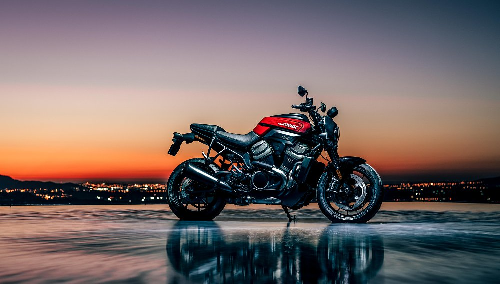 Harley gives a first glimpse at new Revolution Max engine