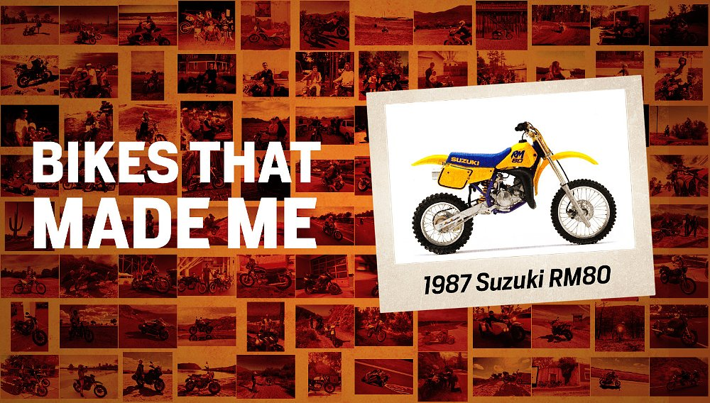 Bikes that made me: How a Suzuki RM80 taught me to respect the machine
