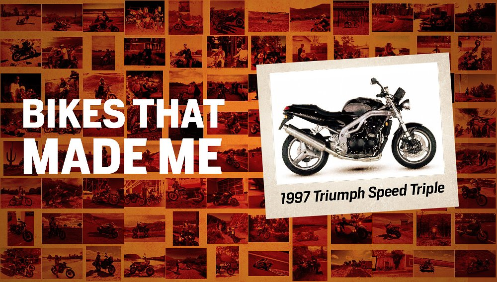 Bikes that made me: A Triumph Speed Triple shifted my motorcycling into a higher gear