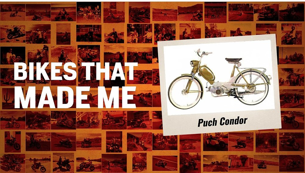 Bikes that made me: A Puch Condor moped in Switzerland