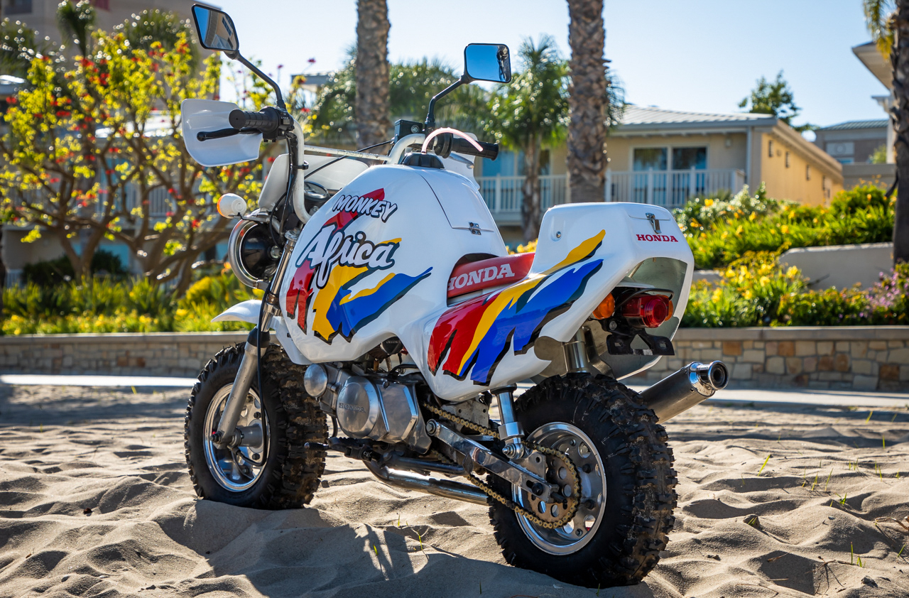 Auction Honda Monkey Baja With Rare Africa Body Kit Revzilla