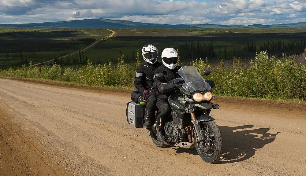Reaching the Arctic Circle on the second try: A father-son journey