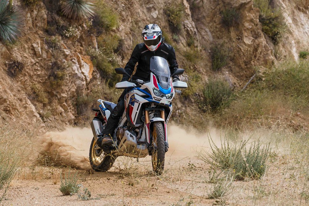 2020 Honda Africa Twin 1100 Adventure Sports first ride