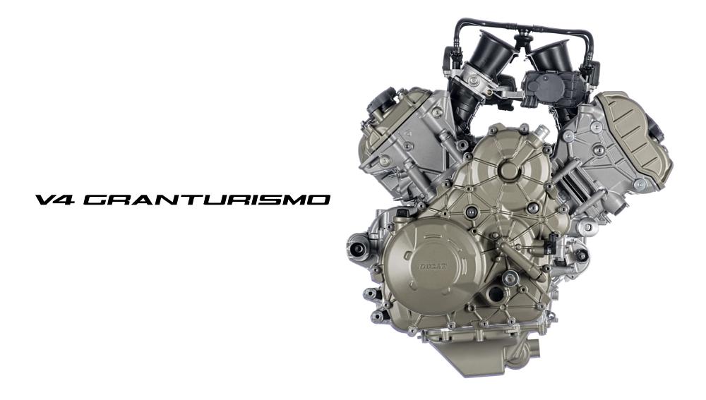 Bye desmo, hello Granturismo: Ducati's radical new V-four engine
