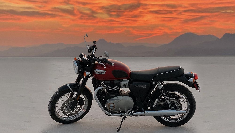 Riding a Bonneville to Bonneville: A journey home to the motherland of speed