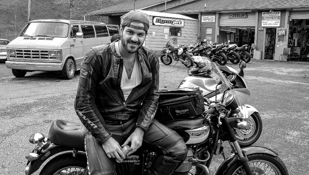 15 years with my Triumph Bonneville T-100