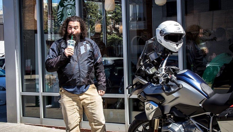 Opinion: That squeaky clean ADV bike at Starbucks is no joke