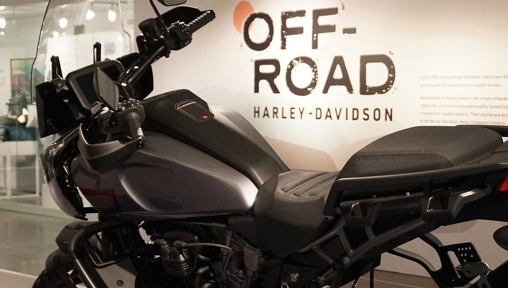 """""""Off-Road Harley-Davidson"""" exhibit celebrates the company's dirty past"""