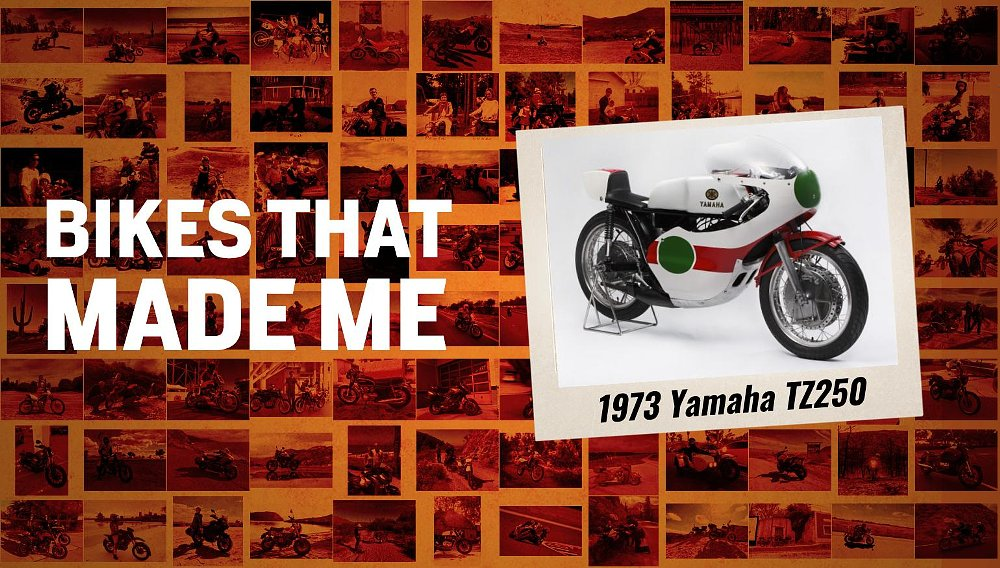 Bikes that made me: A Yamaha TZ250A race bike got a sheltered kid out in the world among giants