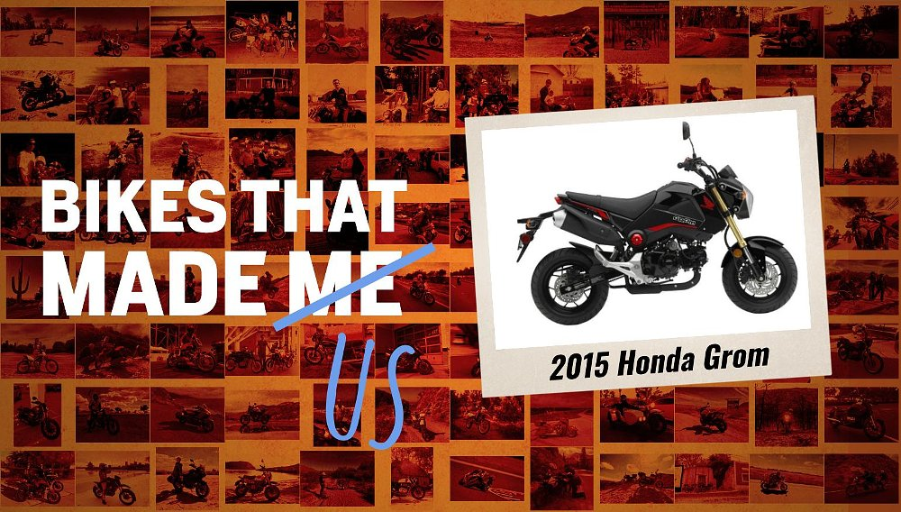 Bikes that made me: A Honda Grom gives father and son something in common